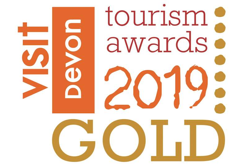 Award winning Hayley's Hut is the 2019 GOLD winner for Devon's Tourism Awards - New Tourism Business Award.