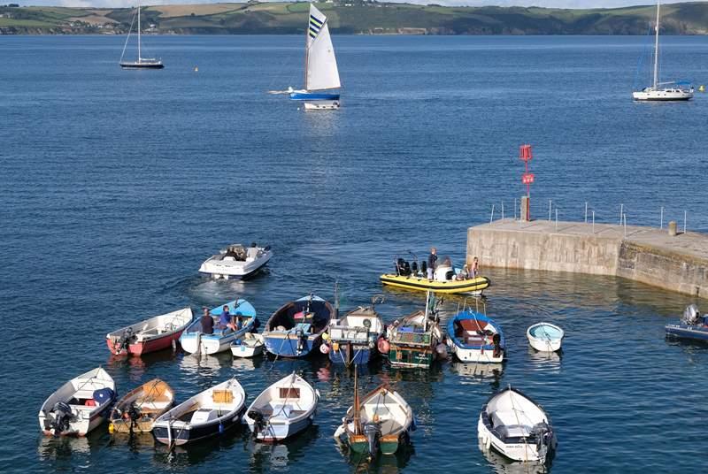 Portscatho Harbour.