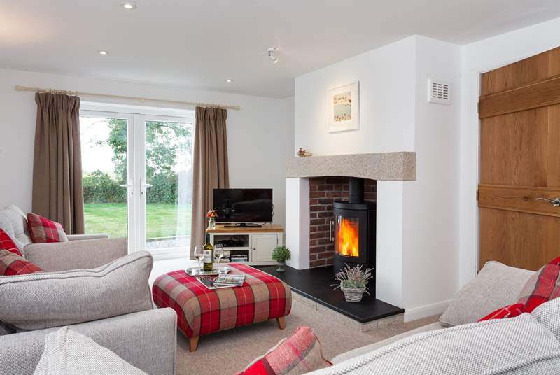 Play a game or two relaxing with the family in front of the roaring wood-burner.