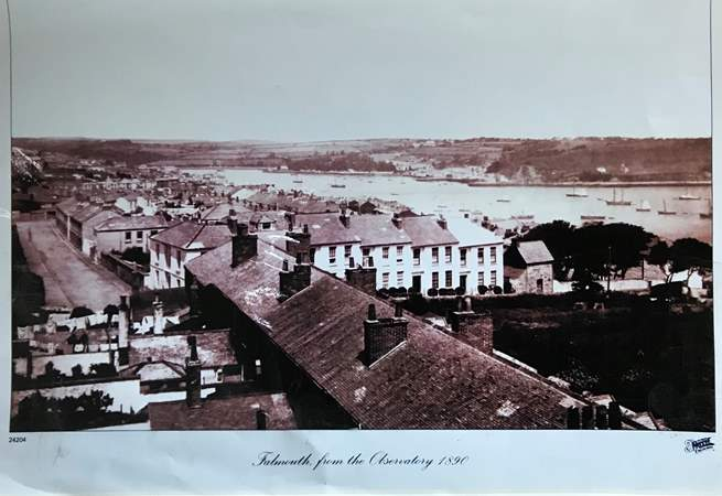 The Sea Captain's House had already been standing in this position over 100 years before this photo was taken in 1890.