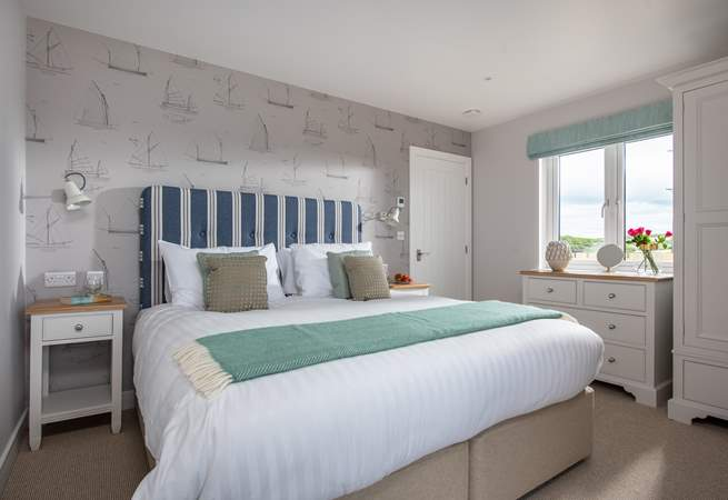 This bedroom opens to the fablous terrace (Bedroom 2).