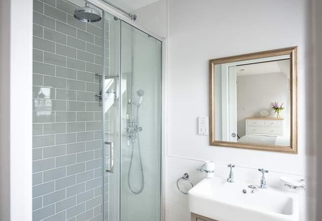 Enjoy a long a soak in the shower (en suite shower room for Bedroom 3).