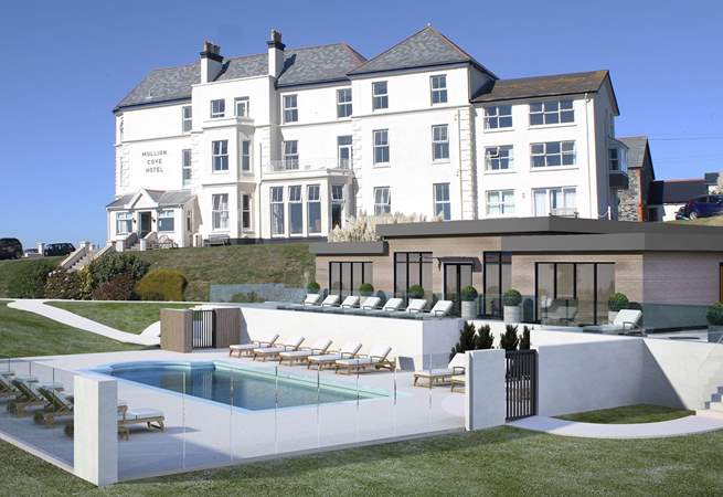 Guests staying in the apartments will also have use of the new facilities at the hotel including a solar heated outdoor swimming pool (seasonal).