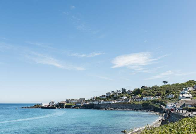 Coverack is very pretty and on the South West Coast Path.