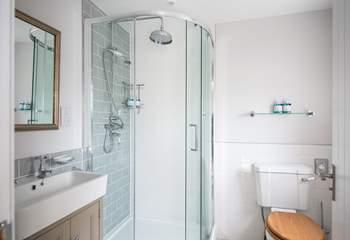 The master en suite shower room.