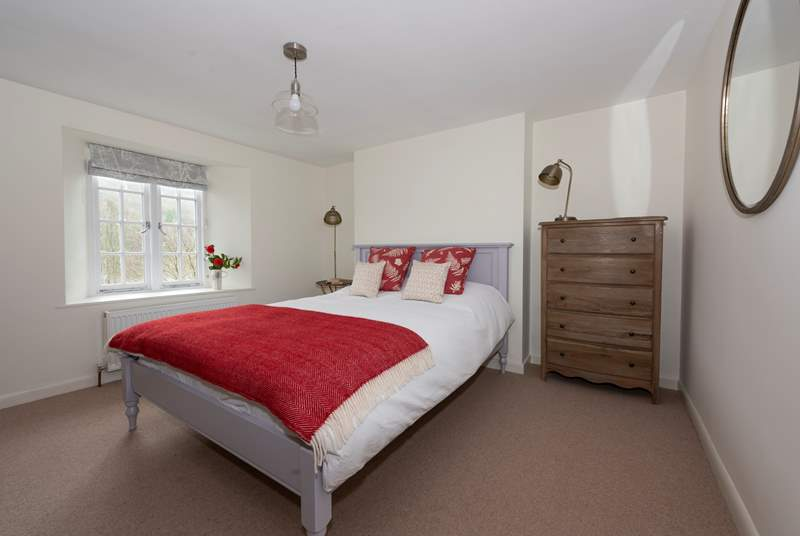 There are three boutique-style bedrooms.
