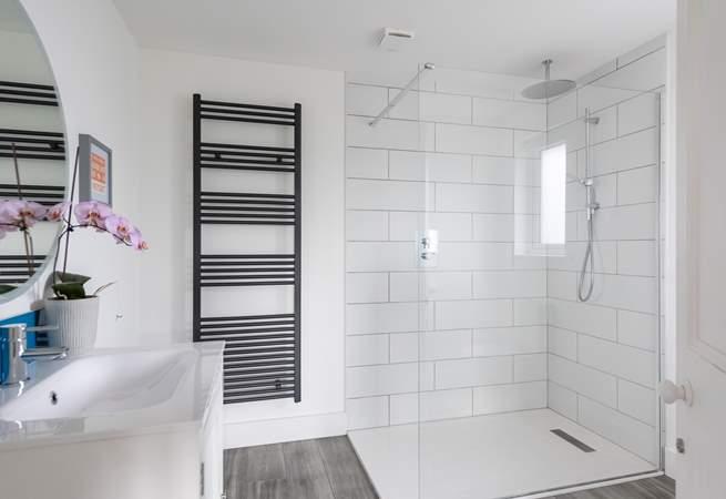 The master en suite shower-room.