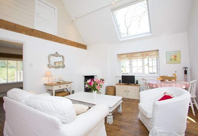 Such a light and airy space!