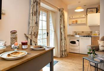 Enjoy a hearty breakfast as you prepare for the day ahead exploring south east Cornwall.