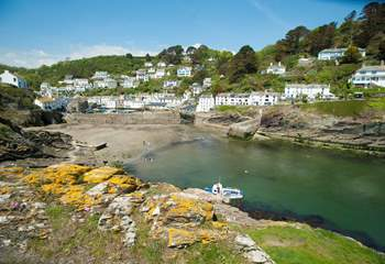Picturesque Polperro is packed full of charm.
