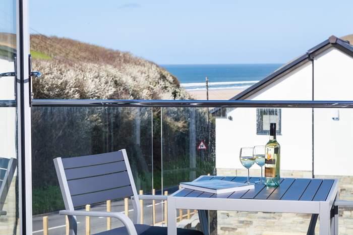 Cottages near Bedruthan Steps Beach