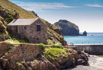 Stunning Mullion Cove is just a short drive away.
