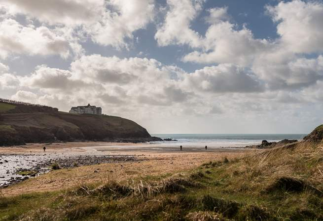Nearby Poldhu Cove has a great sandy beach and fab cafe (check out the luxury hot chocolates!).