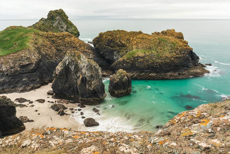 Beautiful Kynance Cove, a must-visit.