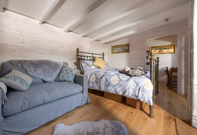 Tree Tops is surprisingly spacious inside - ideal for enjoying a short break or week-long stay.