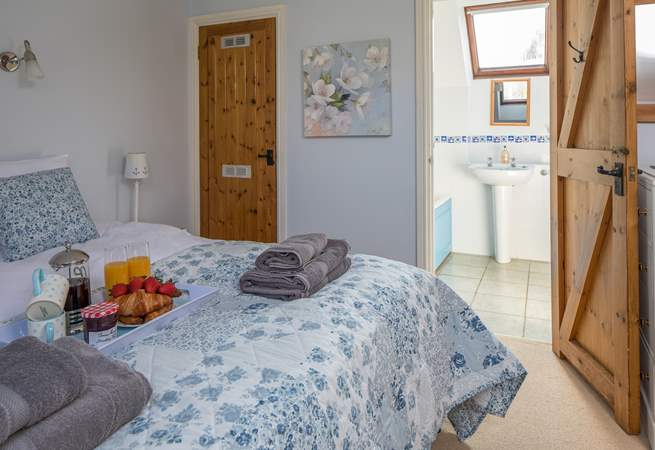 Bedroom 4 is home to this super-king size bed and comes fully equipped with a spacious en suite too.