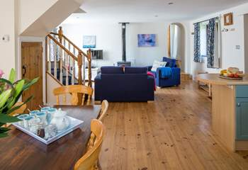 On entering the property, you are welcomed into this fabulous open plan layout.