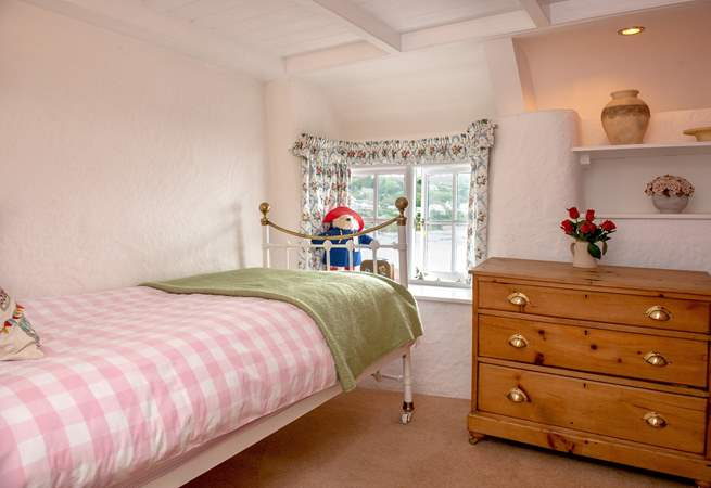 The other single bedroom is quite quirky (Bedroom 4).
