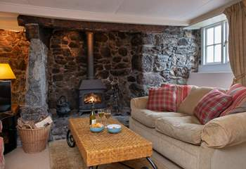 Enjoy a cosy evening in Minstrel Cottage.