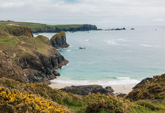 Kynance Cove is only  a shot drive away and it is beautiful.