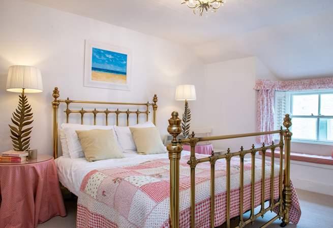 What a wonderful master bedroom (Bedroom 1).