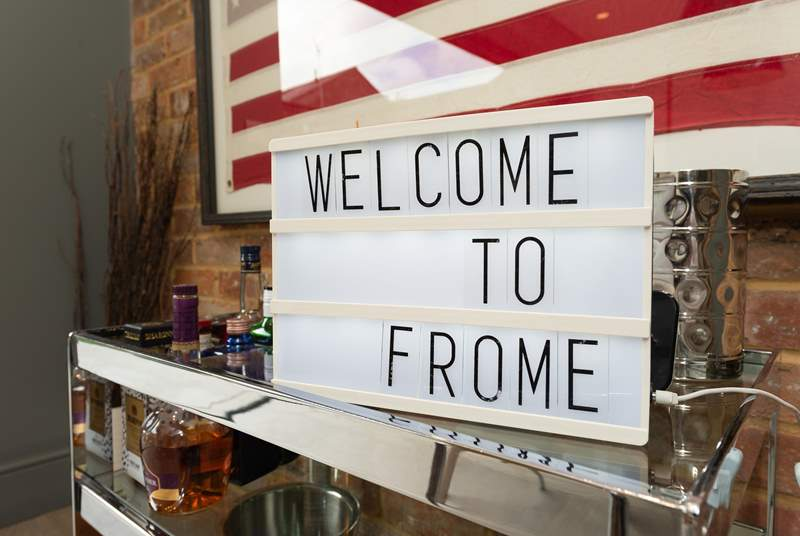 This says it all !  Frome has much to offer - cobbled St Catherines, the artisan market are both a short walk away. Out and about you are just 14 miles from Bath.