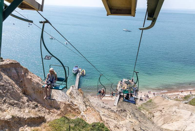 A visit to The Needles and a ride on the chairlift is a must whilst visiting the Island.