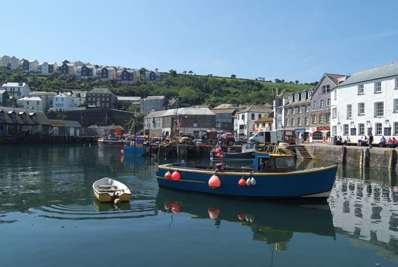 Mevagissey is well worth a visit too, with its famous tall ships.