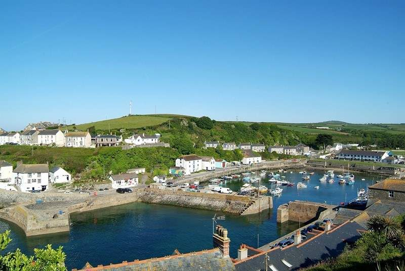 A short drive away is the foodie mecca of Porthleven.