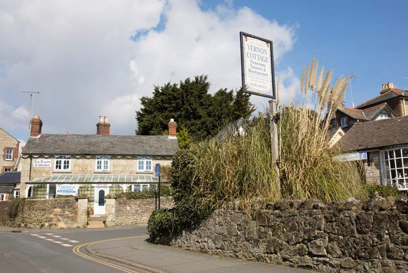 Take a stroll through Shanklin Old Village, just a ten minute walk from Shanklin Manor.