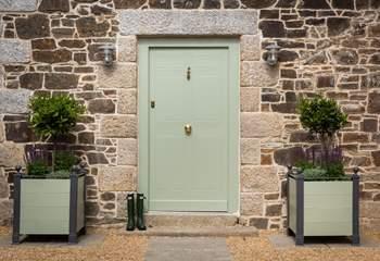 Delights await you behind the front door.