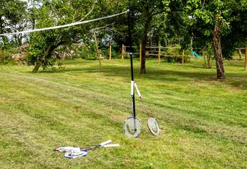 Time for a spot of badminton perhaps.