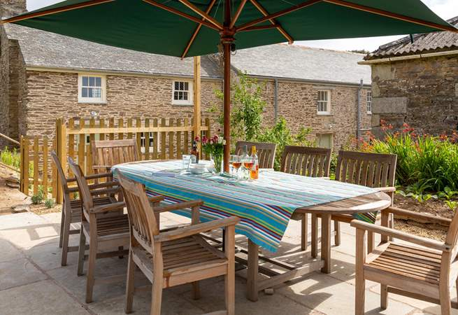 A fabulous spot for a long lunch or a summer evening barbecue.