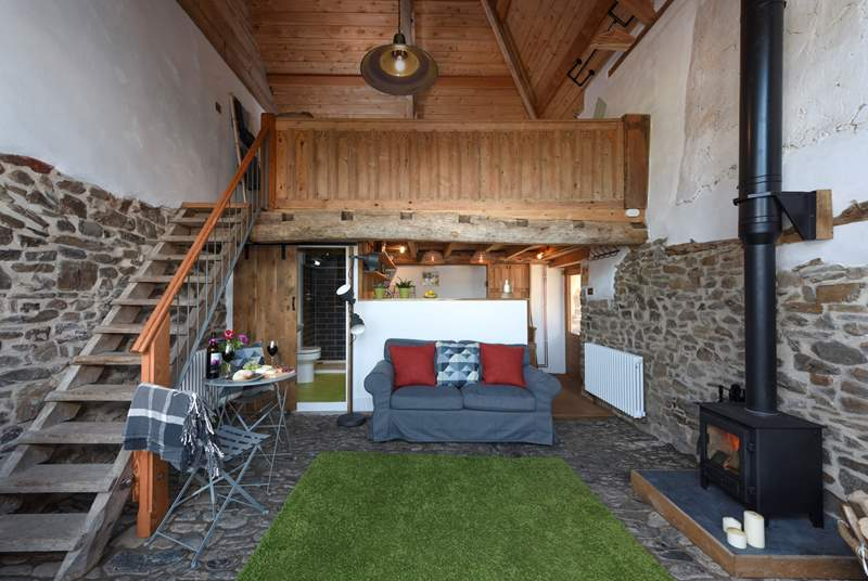 A delightful, quirky and cosy retreat for two.