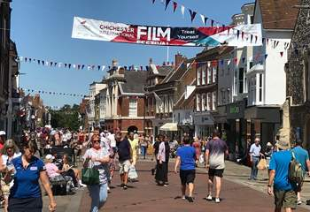 Chichester offers so much for visitors, all year round.