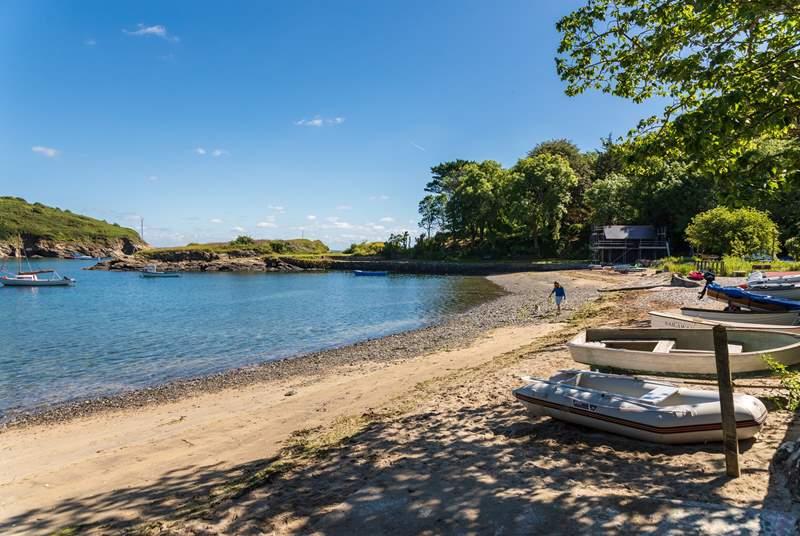 Gillan Cove is fun to discover, a hidden treasure.