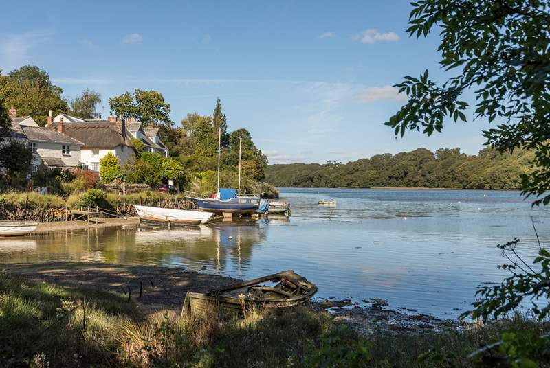 Enjoy the Creekside walk from Malpas to St Clements.