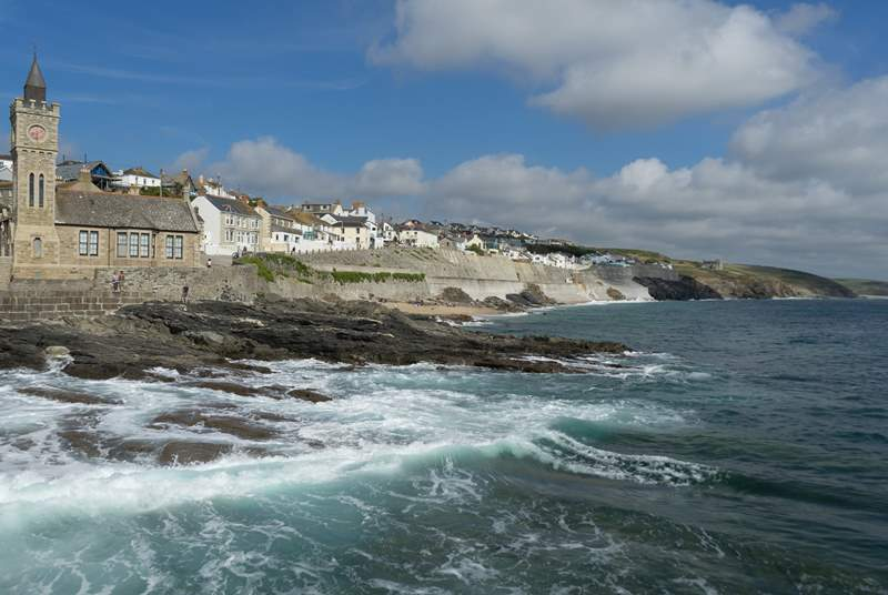 Porthleven is full of the most gorgeous restaurants, and is a short drive away.