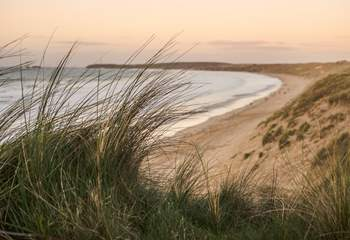 Gwithian beach is a short drive away, and perfect if you enjoy surfing.