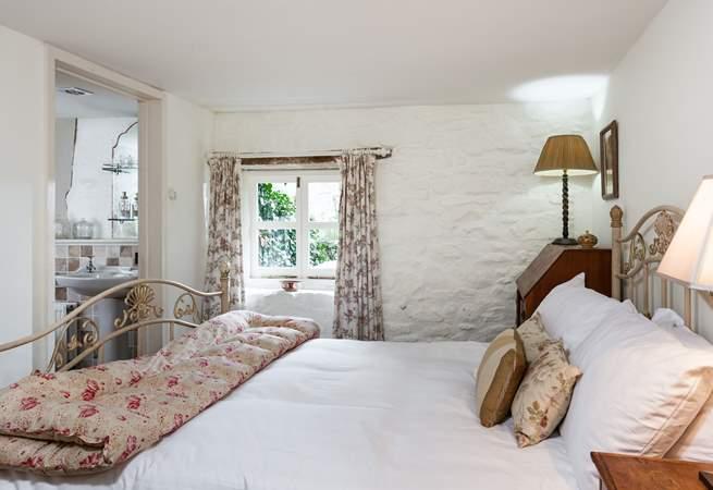 Bedroom 1 is located on the ground floor and has an en suite bathroom.