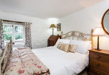 The cottage has four delightful bedrooms.