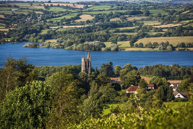 North Somerset has some of the most beautiful scenery. This is the Chew Valley Lake, between Shepton Mallet and Bath.