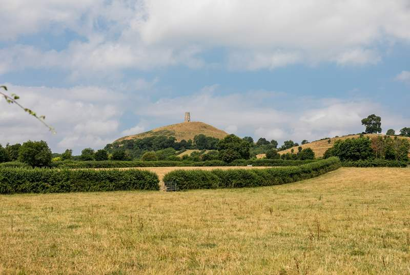 Glastonbury and the iconic tor is close by. A walk to the top is rewarded with views across the whole of Somerset. Stunning!