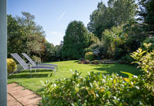 These glorious gardens are purely for your use. The perfect environment for the children and dogs to let off steam whilst you relax and unwind.