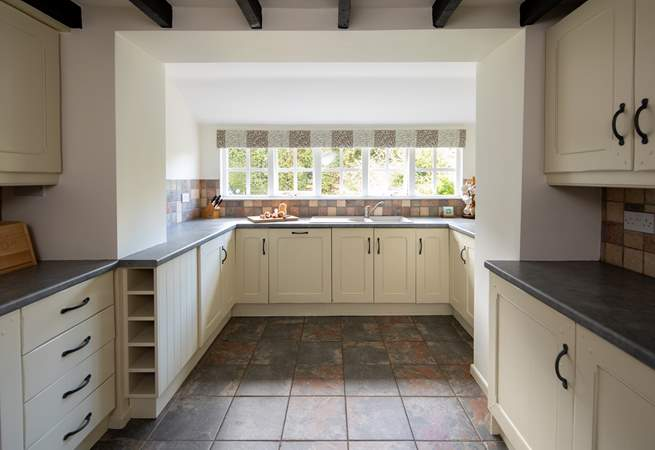 Plenty of space to really get stuck into creating that special meal.