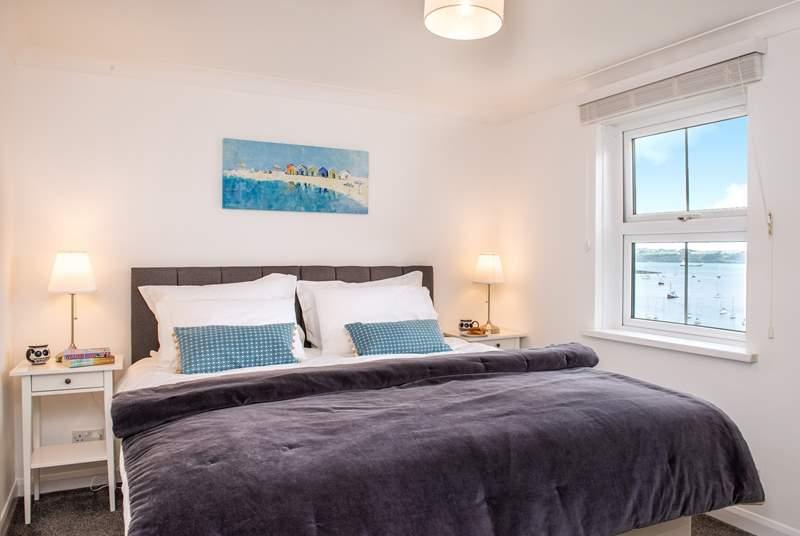 The master bedroom has just stunning views (Bedroom 1).