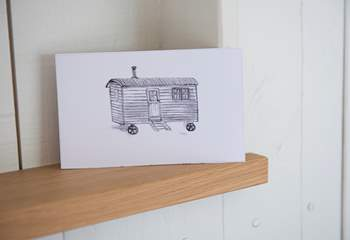 A shepherd's hut makes a fantastic place for a holiday.