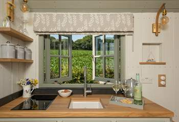 The washing up won't feel like a chore in these surroundings!