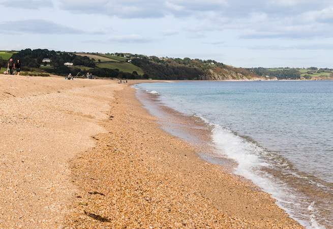 Slapton Sands is a great beach.