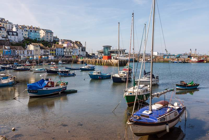 Postcard pretty Brixham is well worth a visit.